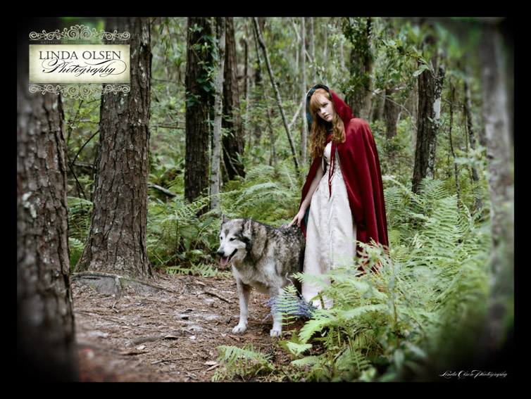 red and wolfy