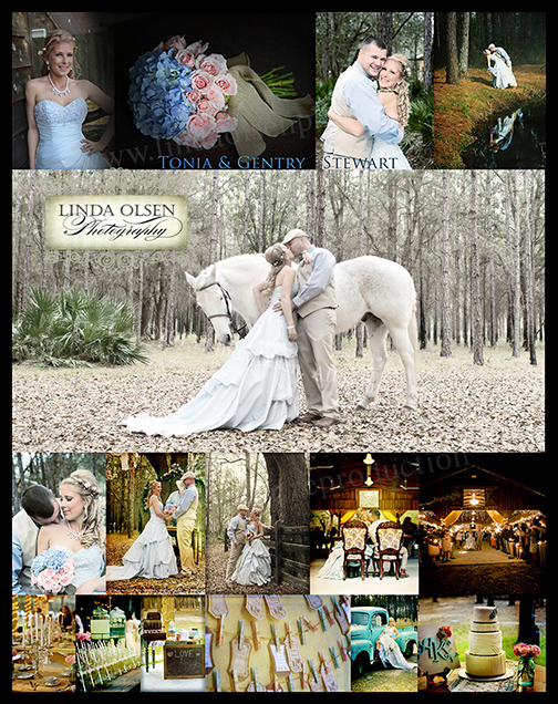 I usually offer a collage of my favorite images form a wedding or portrait session in case my clients want a poster type image to hang on their wall. The images I chose showed a lot of the vintage elements that were around to create the visual of what the bride and groom had envisioned.