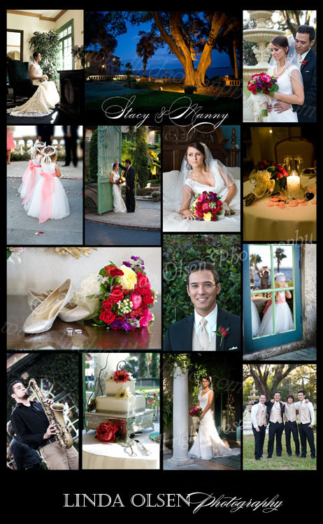 http://youtu.be/-y76tUTgzKcis the link if you would like to view Manny and Stacy's wedding book. When designing a book, I include the couples choices and then tell the story chronilogically of their beautiful day.