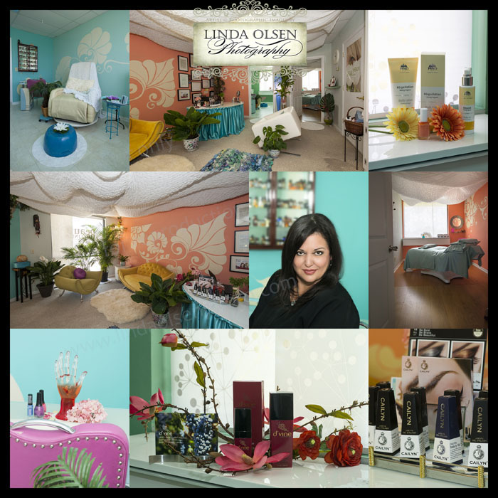Wanderlea's Beauty Clinic in Neptune Beach asked me to photograph the newly painted and decorated interiors and new product lines as well as the owner's portrait. I also photographed some of Wanderlea's new product lines that she can use in her new website and blog to advertise. She is from Brazil and is so knowledgeable about beauty treatments and offers a variety of spa treatments. Give her a try: Wanderlea's Beauty Clinic LLC; 1122 3rd St., suite 2, Neptune Beach.