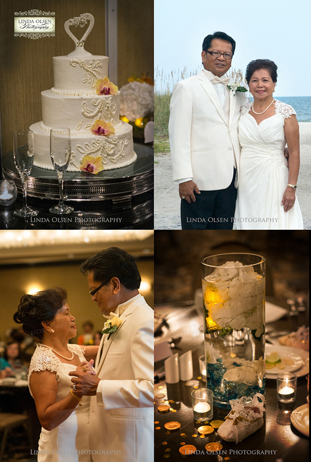 Alfonzo and Lourdes celebrated their fifty years of marriage with a vow renewal. It was so beautiful to see the amount of love and commitment. All of their children and grandchildren expressed their unity as a family. They had a church ceremony followed by a reception for friends and family at ONe Ocean.