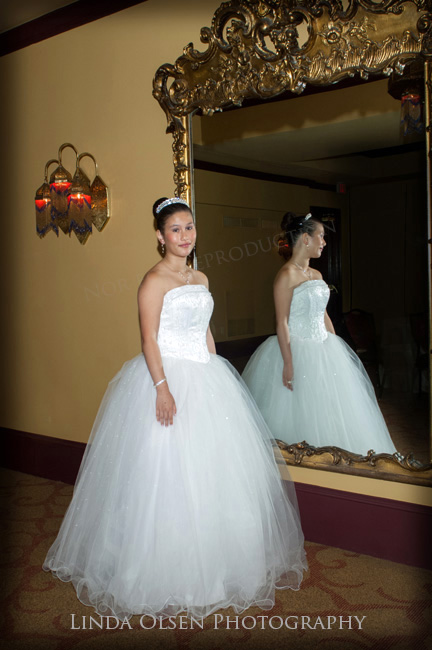 Quincenera Gown Mirror