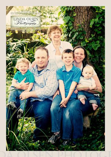 Family portrait Lentz