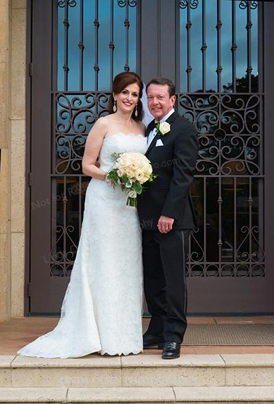 Sandy and Bob Barnes wedding