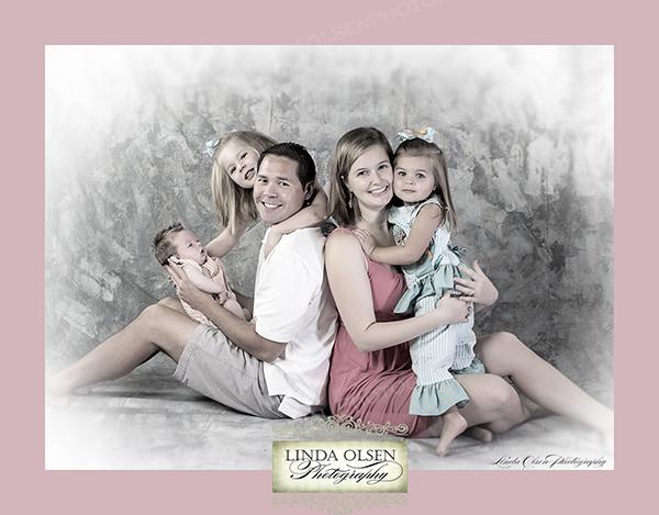 family portrait Peterson