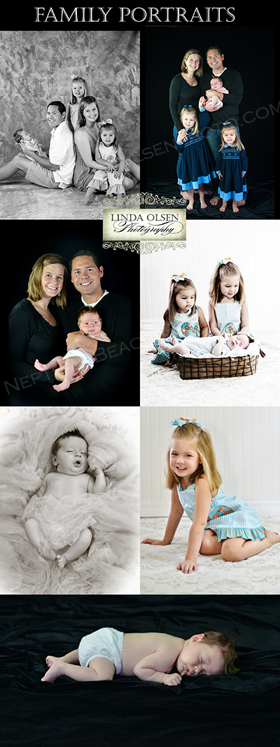 Family portraits by Linda Olsen