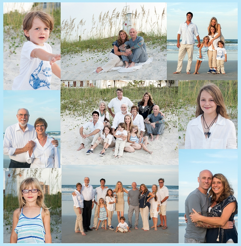 collage perrin family