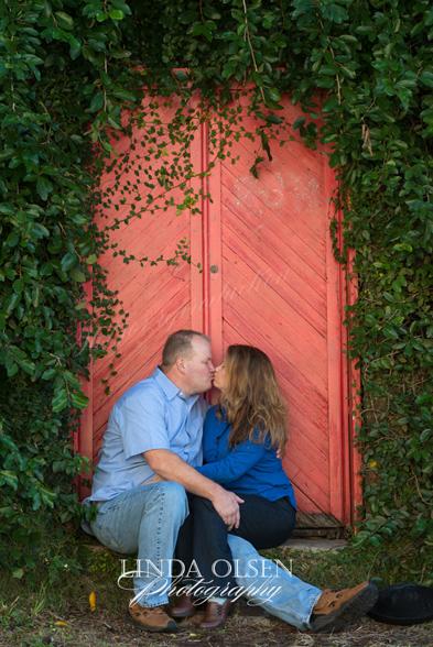 red door kiss