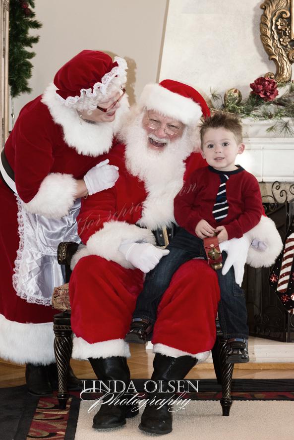 Ty likes Santa