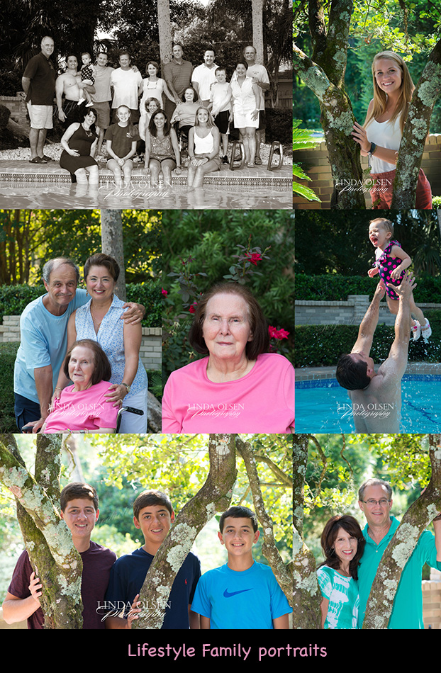 The Suhrer family  had a pool party and family gathering last week and since they had most of the family attending the barbeque, they wanted me to capture the 22 people who came. many were wet from swimming in the pool and hot from the 96 degree afternoon sun, some people arrived late after we did the family group shot, and the age spread was 88 to one. Always a challenge! However, the fact that it was a casual family portrait, it actually did show the affection the family had for each other and a bit more personality in a very relaxed setting.