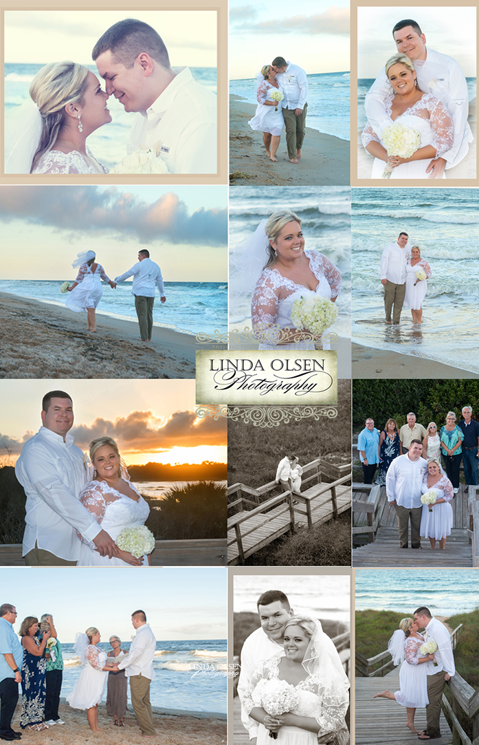 Friday evening, I shot a very small wedding at the Guana North Beach access. Brian and Tricia were lovely to work with. SOmetimes small mishaps happen like her zipper broke on her dress right before departing to the beach and then they had to go back to the hotel for the rings and license but we ended up having just enough daylight to have a lovely ceremony and photo session. Congratulations to both!