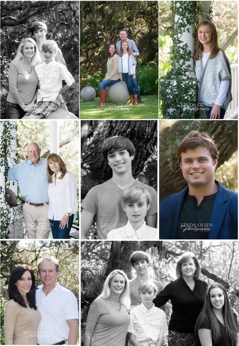 stockton family collage