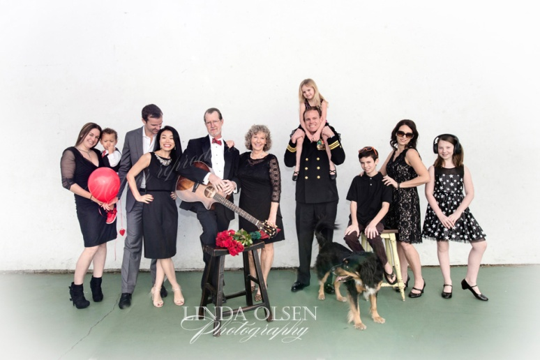 The Lanier families had scheduled a holiday portrait in December but some family members who had to travel from far couldnt make it. Sometimes it is so hard to get family together that take the opportunity when you can. We had fun/